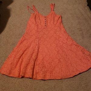 Taylor & Sage Adorable Coral Mini Dress Medium